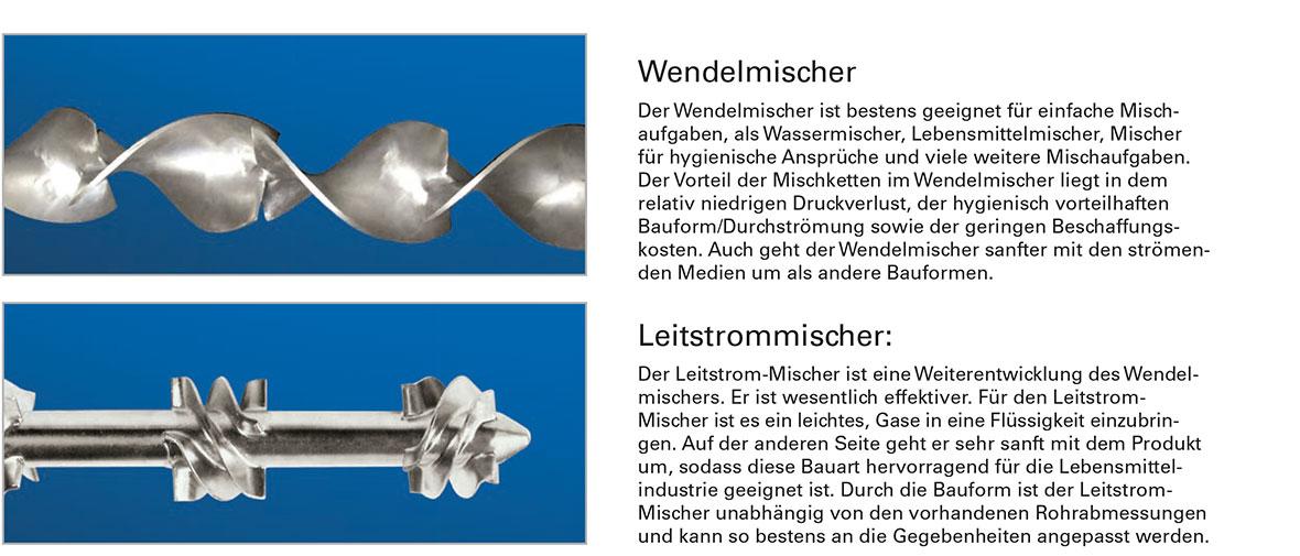 Statische Mischer Schumacher Verfahrenstechnik Gmbh